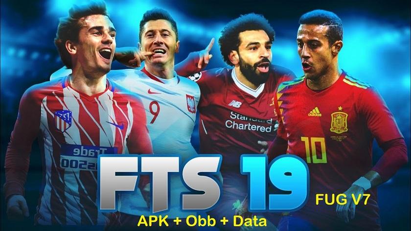 FTS 19 Android Offline FUG V7 HD Graphics Download