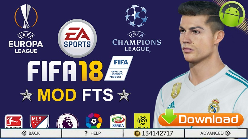 FTS Mod FIFA 18 Ultra Android Graphic Download
