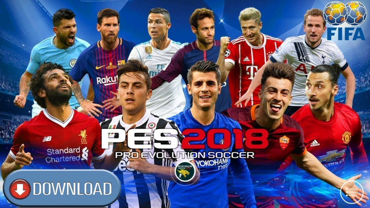 PES18 UCL – Pro Evolution Soccer 2018 Android HD Graphics Download