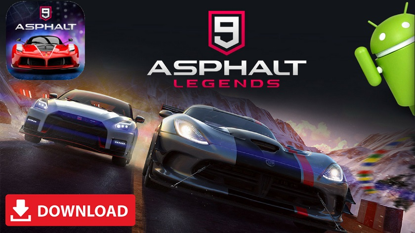 Asphalt 9 Legends APK MOD Android Download