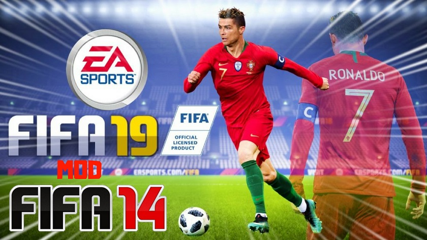 FIFA 14 Mod FIFA 19 Offline Update Kits Apk Data Obb Download