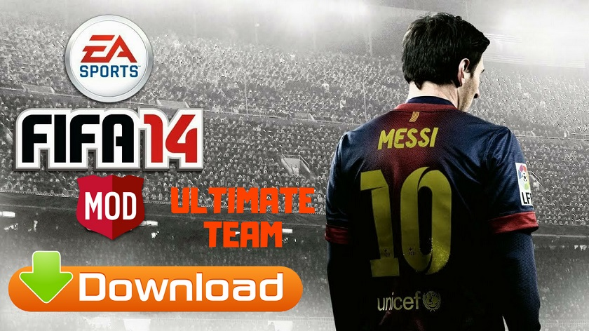 FIFA 14 Ultimate Team Mod Offline Apk Download