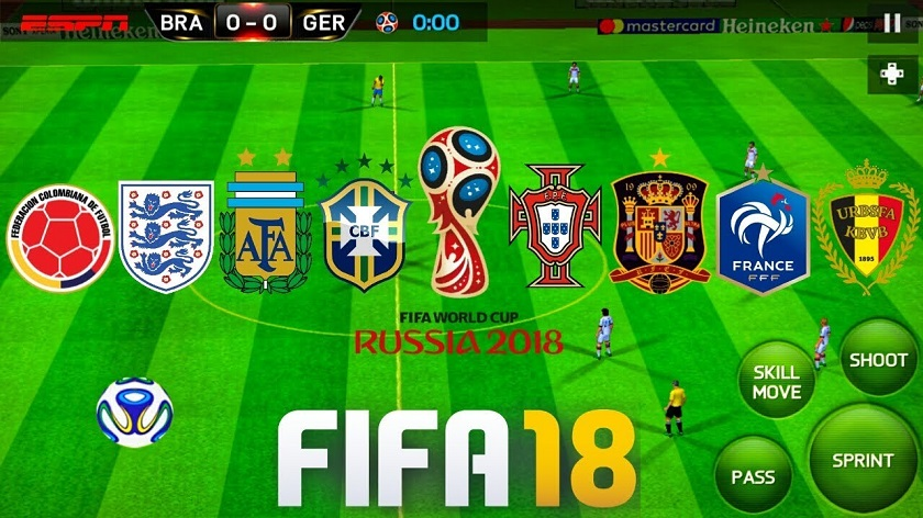 FIFA 18 MOD FIFA 14 Offline World Cup Russia 2018 Android Download