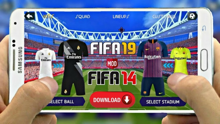 FIFA 19 Mod FIFA 14 Offline Android Update Download