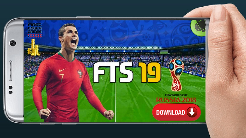 FTS World Cup Russia 2018 Mod Apk Download