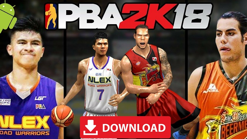 PBA 2K18 Android Apk Obb Download