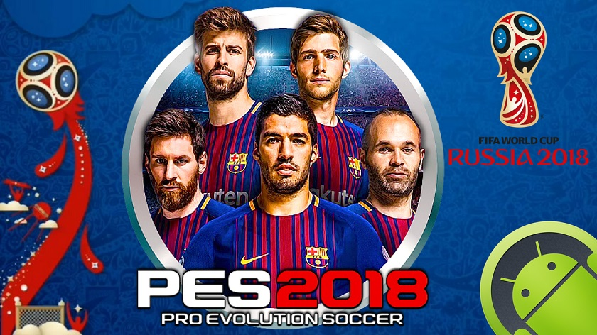 PES 2018 Mod World Cup Menu Android Download