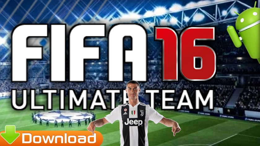FIFA 16 Android Mod 2018 Ronaldo in Juventus Download