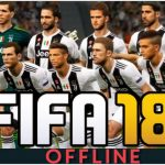 FIFA 18 Offline Android Mod Update Transfer Ronaldo in Juventus Download