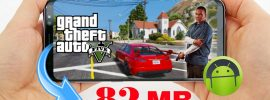 GTA 5 Android Mod APK DATA Highly Compressed 82MB Download
