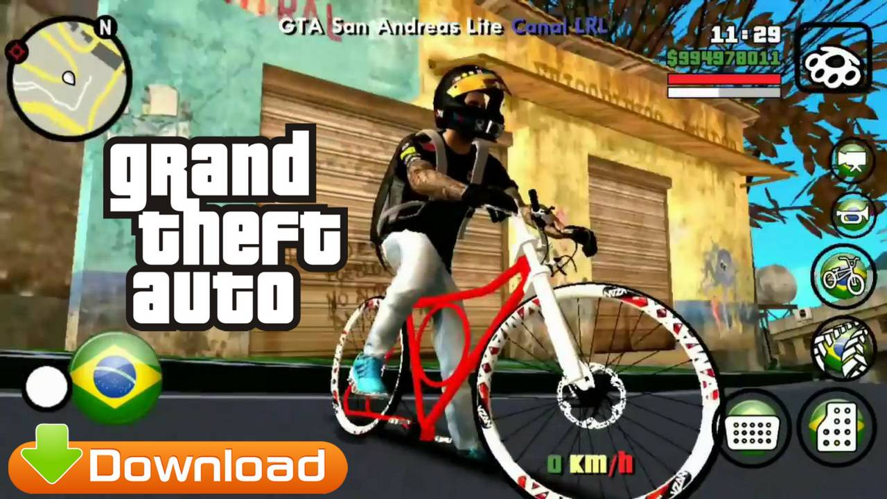 GTA Brasil Lite V9 Android Mod APK DATA Download
