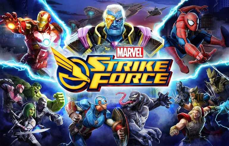 MARVEL Strike Force Mod Apk Free Skills Download