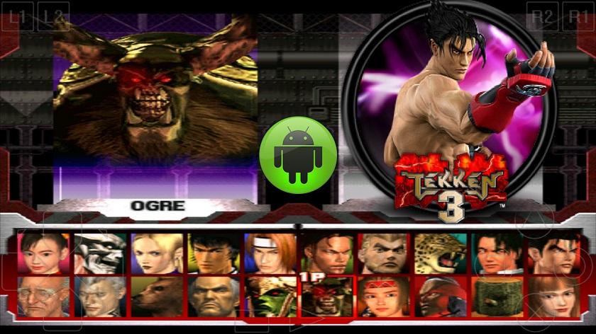 Tekken 3 APK all Players Download