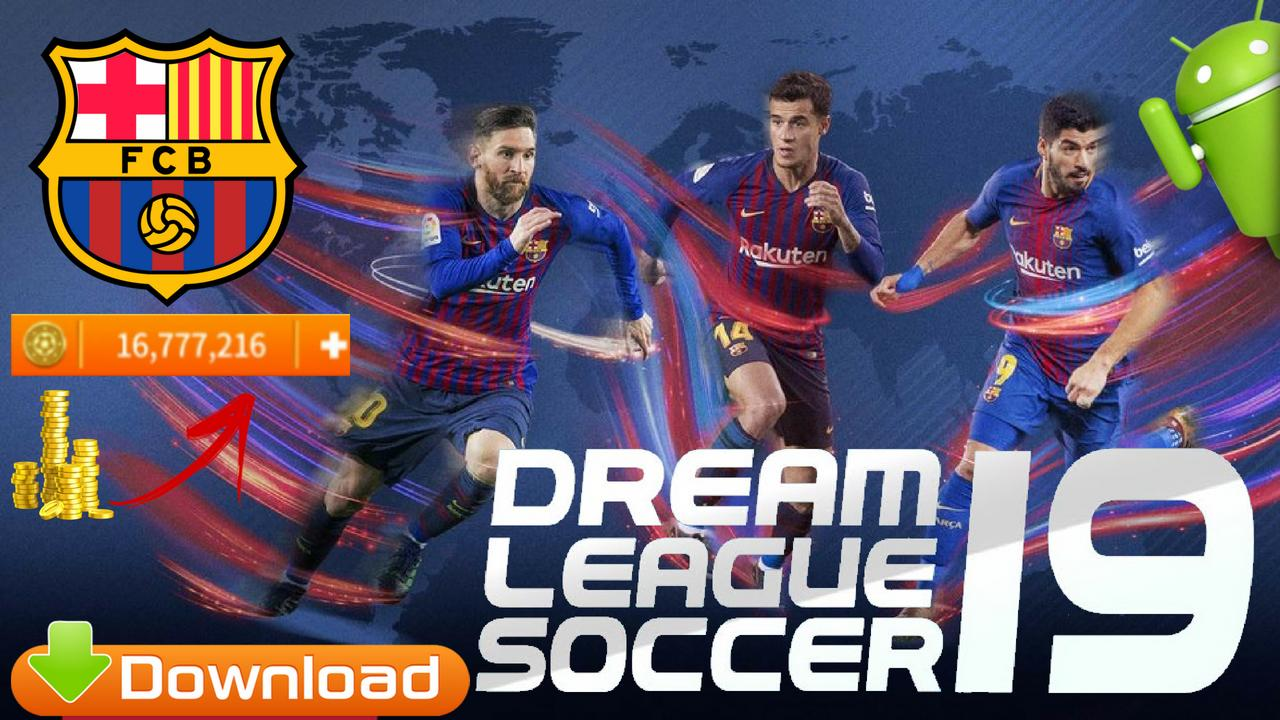 DLS19 Mod Barcelona FIFA Offline Android Download