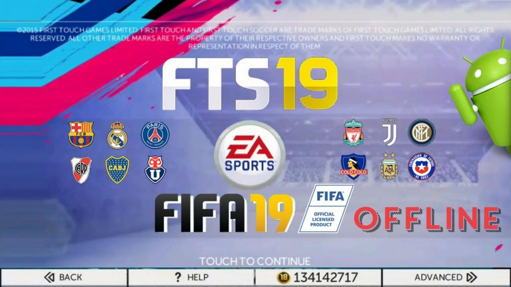 FTS Mod FIFA 19 Offline Android Update Transfer Download