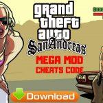 GTA San Andreas Mega Mod Cheats Android Game Download