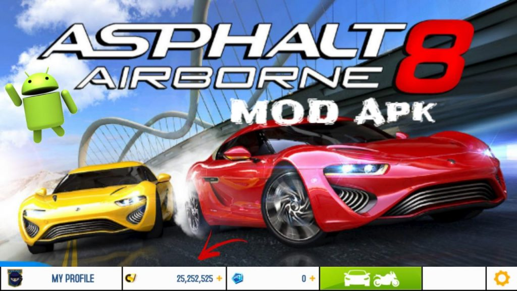 Asphalt8 MOD APK Free Shopping Anti-Ban Download