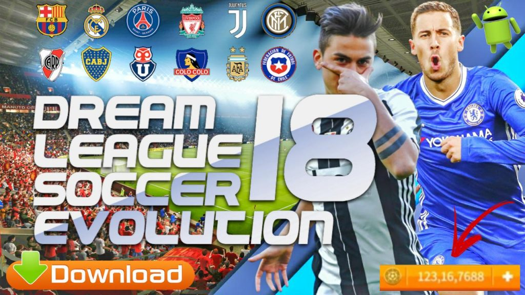 DLS18 Evolution – Dream League Soccer 2018 Android Download