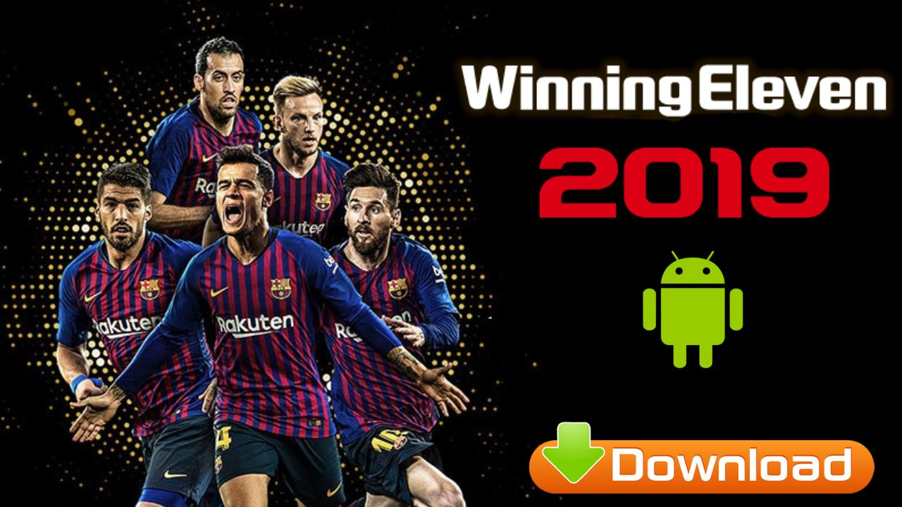 Winning Eleven 2019 Offline PES Patch 2012 Android Download