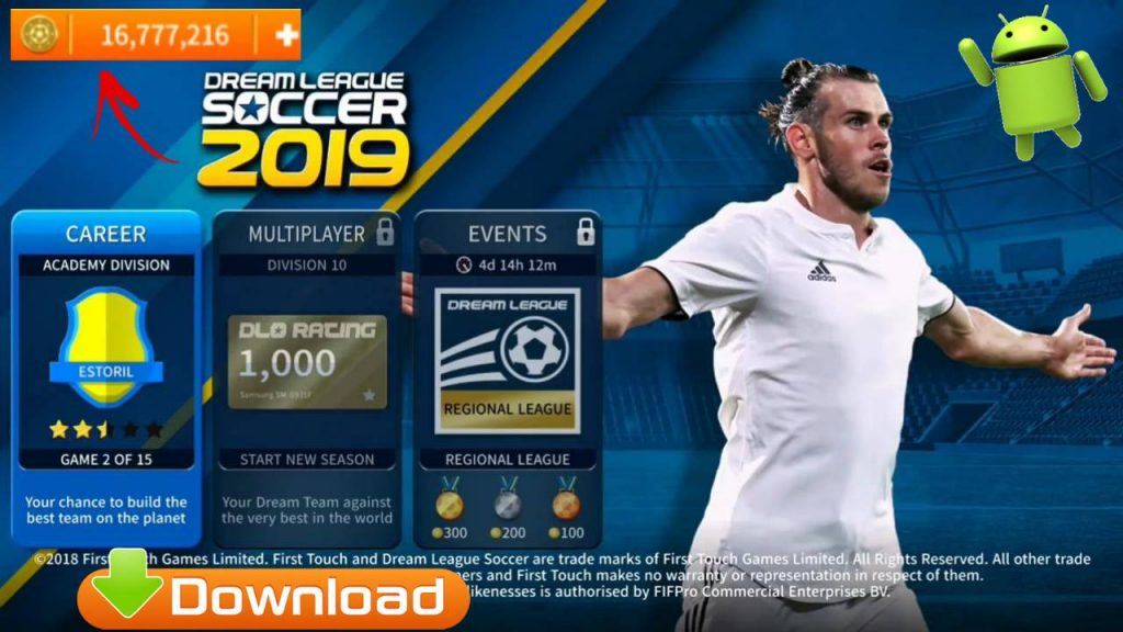 New DLS19 APK Mod Android Game Download