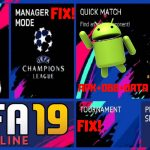 FIFA 19 Offline APK Fix Tournament ManagerMode Real Face Download