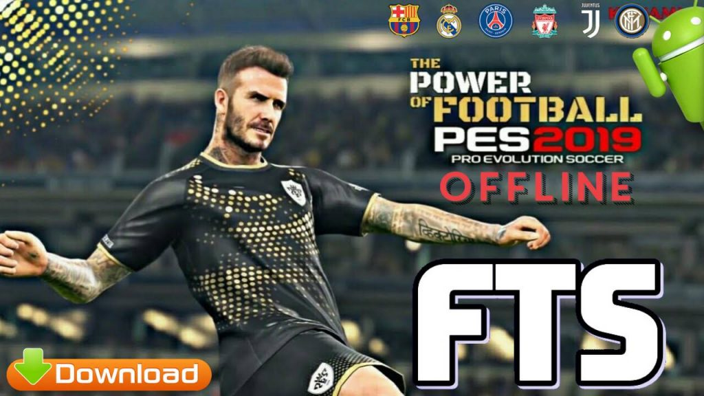 FTS 19 MOD PES 2019 Offline Android Full Update Download