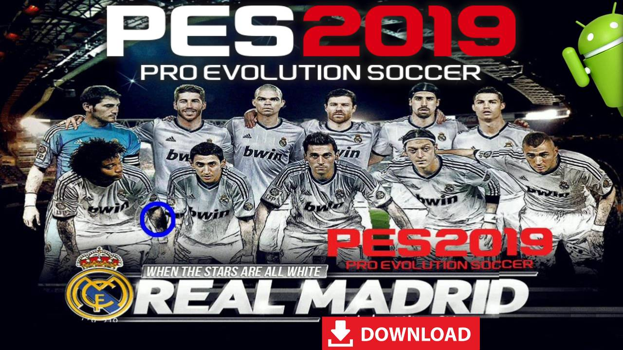 PES 2019 Mobile Patch Real Madrid Team Android Download