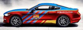 AUDI donates cars to Barcelona players