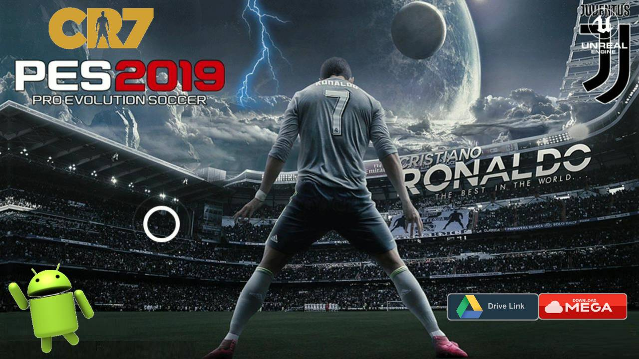 PES 2019 Android Patch CR7 Juventus OBB Download