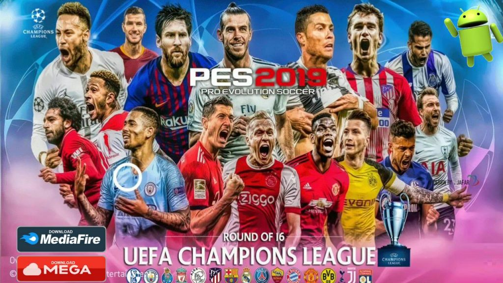 Update PES 2019 UCL Android Mobile Patch Download