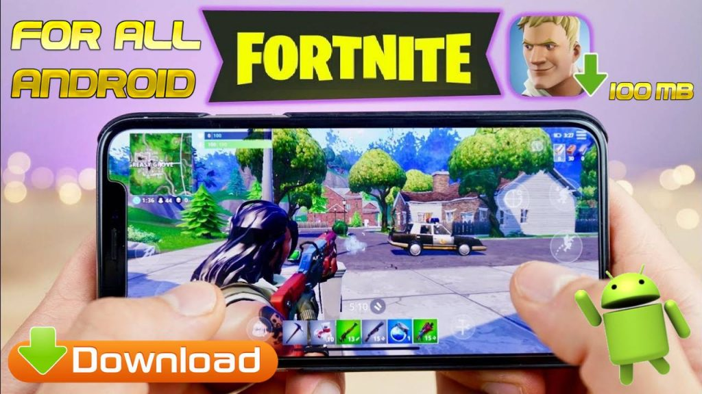 Fortnite for all Android phone Mod Apk Download