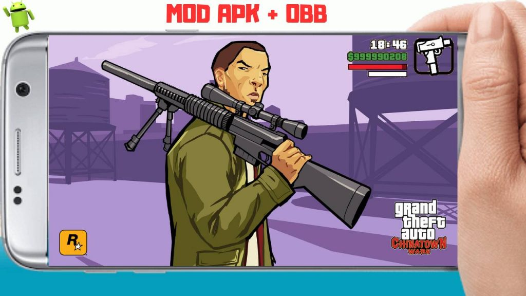 GTA Chinatown Wars Mod APK Unlimited Money and Ammo Download