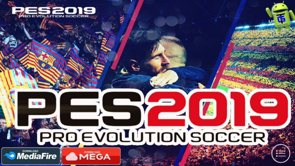 PES 2019 Mobile Patch Barcelona Android OBB Download