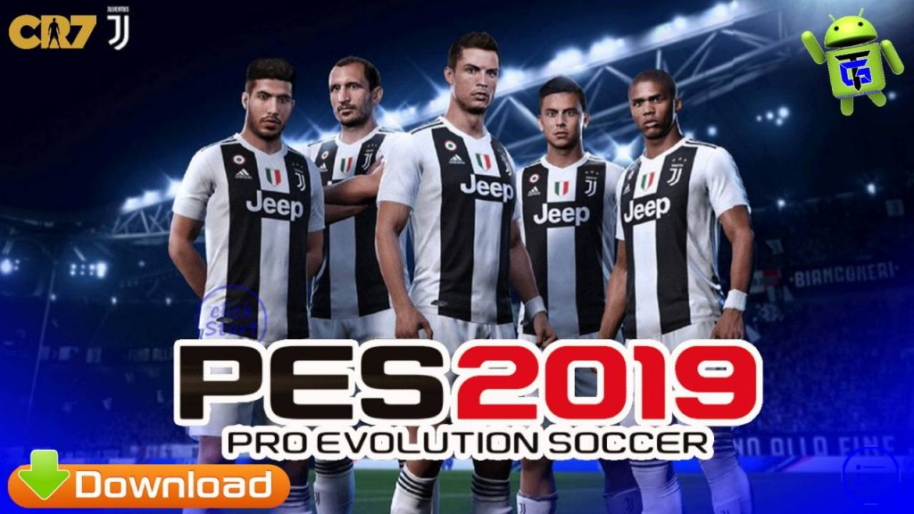 PES 2019 Mobile PATCH Juventus CR7 Update Kits 2020 Download