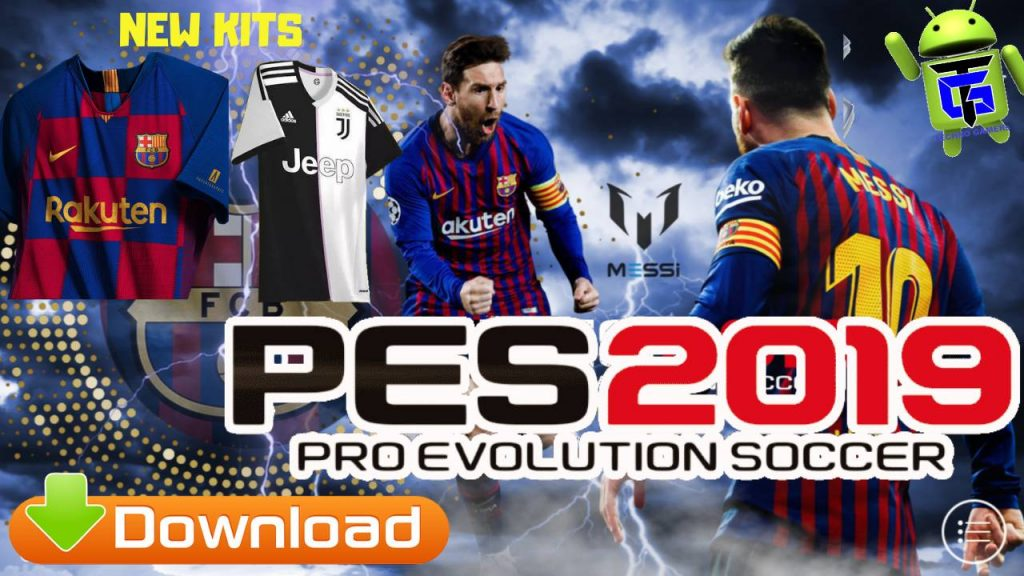 PES 2019 Mobile PATCH Messi OBB Update Download