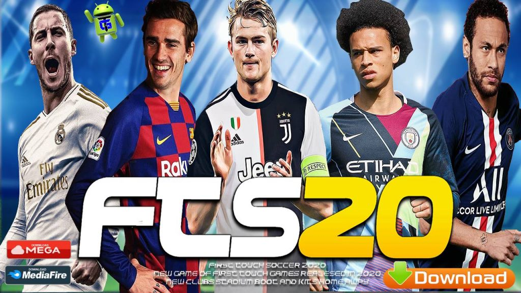 FTS 2020 Android Offline Update APK OBB Data Download