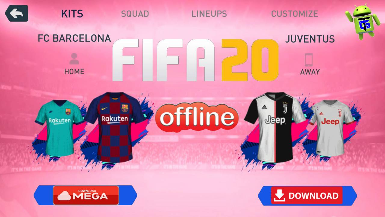 New FIFA 20 Android Offline Kits 2020 Download
