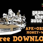 Free Download GTA 3 APK OBB MOD Unlimited Money for Android