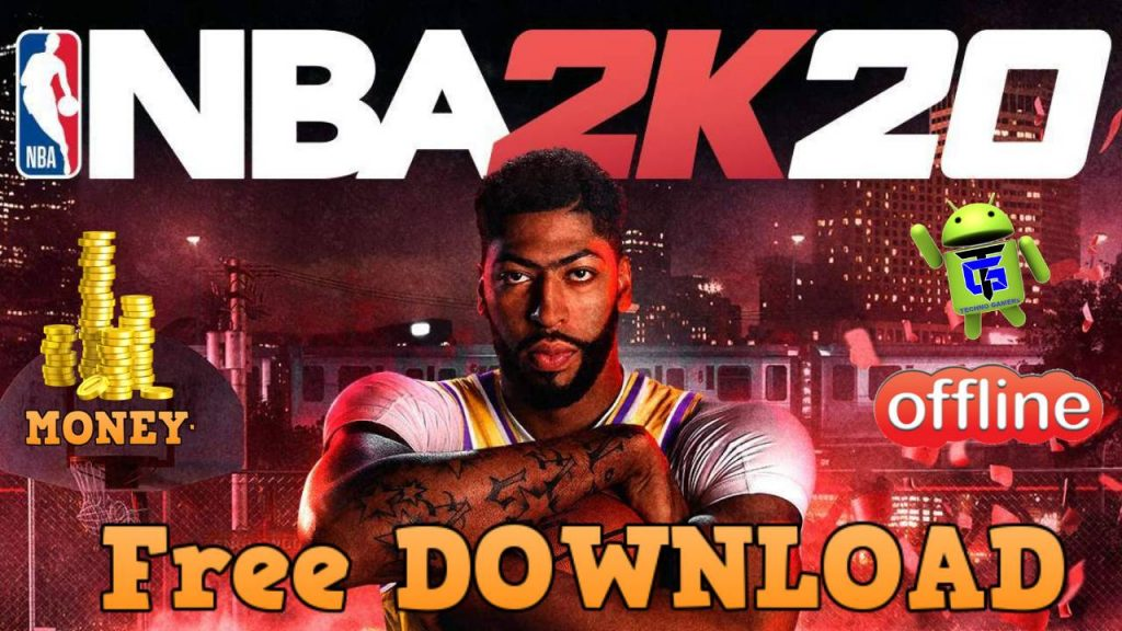 Download NBA 2k20 APK MOD Android Unlimited Money