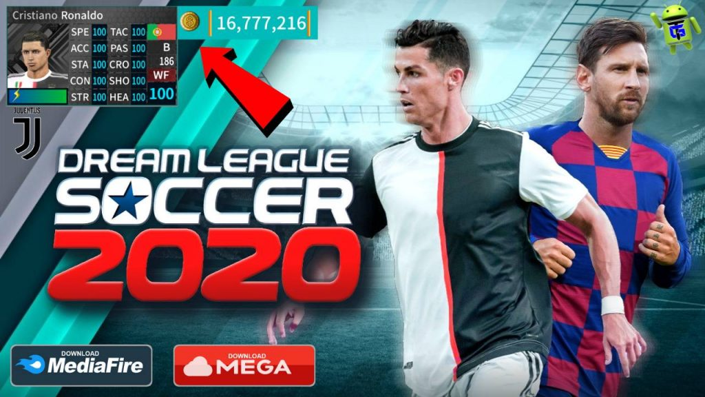 Dream League Soccer 2020 APK Mod Money Juventus Update Download