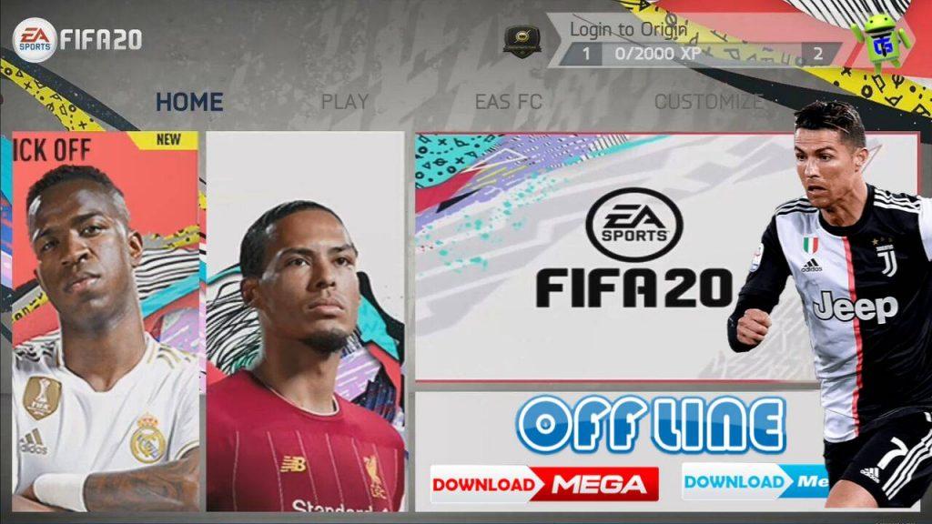 FIFA 20 Mobile Offline APK OBB Data New Transfer Update