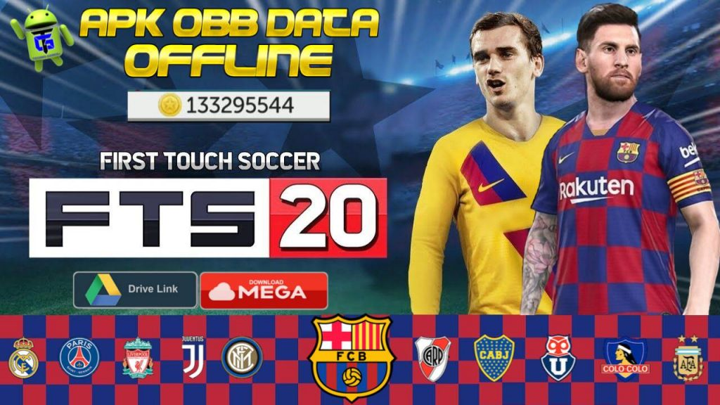 First Touch Soccer 2020 Mod APK OBB Data Money Download