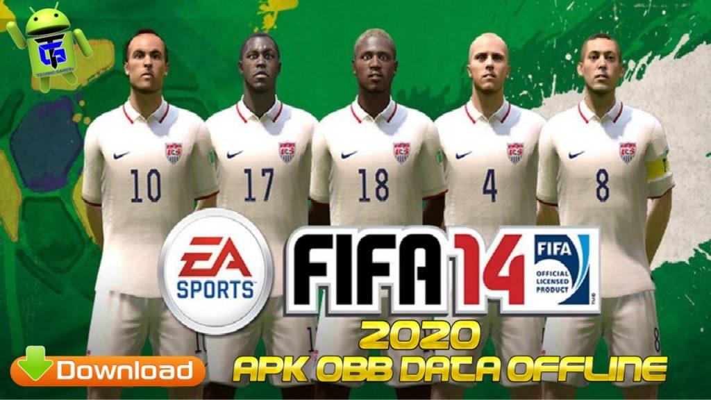 FIFA 14 Mod Apk Obb Data 2020 Unlocked Full Download