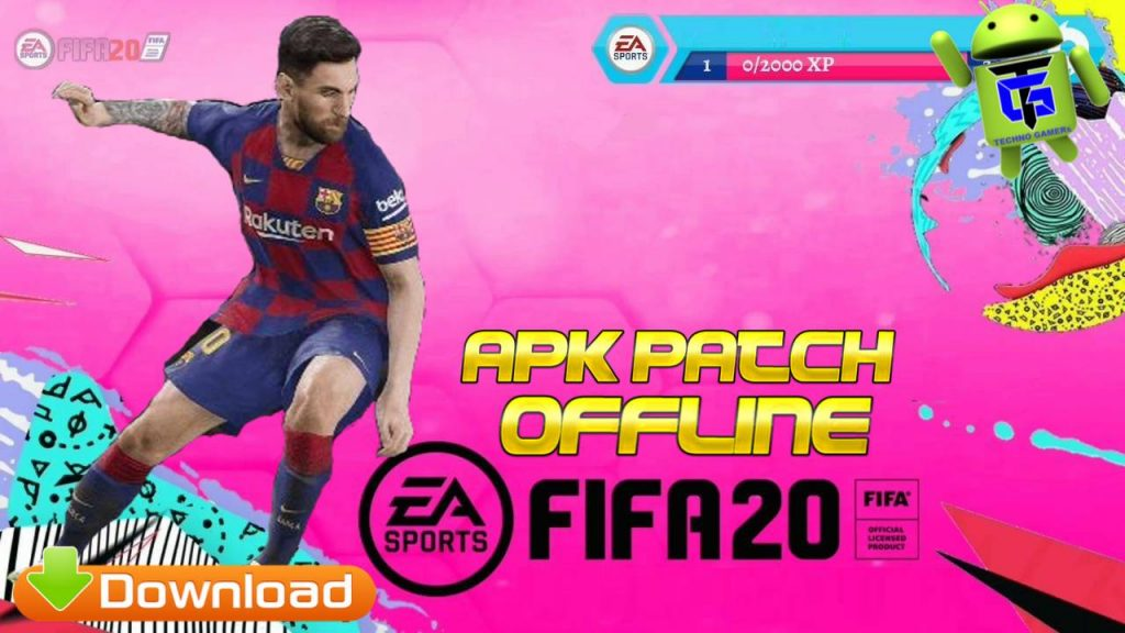FIFA 20 Mod Apk Offline Android Patch OBB Data Download