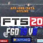 FTS 2020 Mod FGD v8 Android APK OBB Data Download