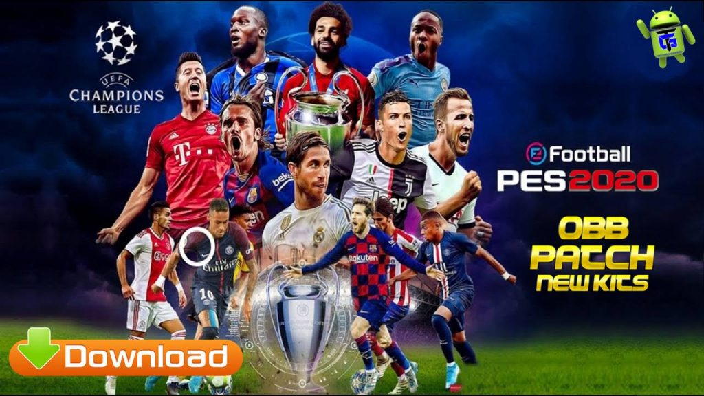 PES 2020 UCL Patch APK OBB Download