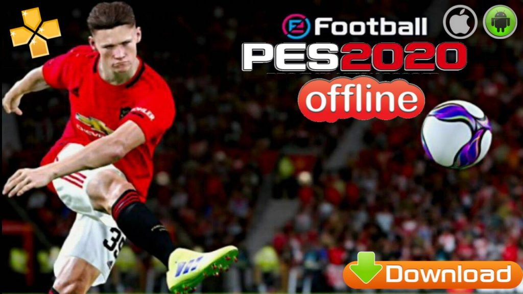 eFootball PES 2020 Offline Android PPSSPP English Version Download