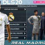 DLS 20 Mod APK Real Madrid 2020 Download