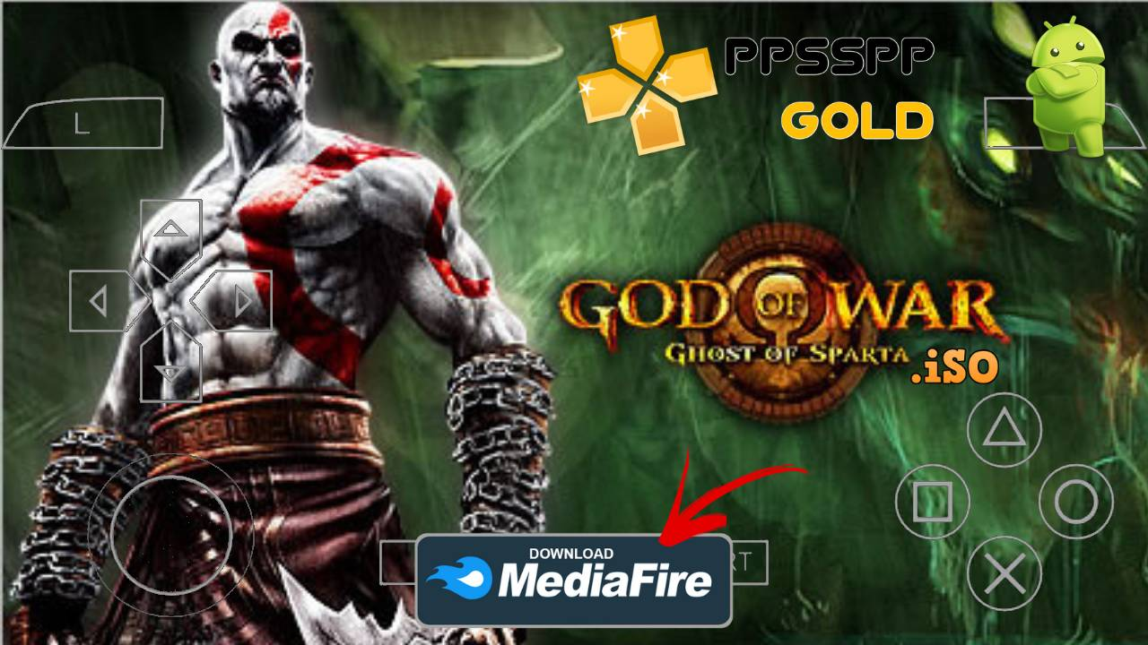2021 God of War Ghost of Sparta Android Highly Compressed Download