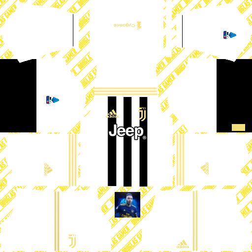 Juventus Home Kits Version2